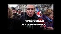 """""""C'est pas un match de foot """" lance Fauvergue, député LREM, sur les blessés en manifs"""