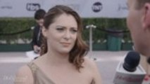 Rachel Bloom on SAG Awards Red Carpet 2019
