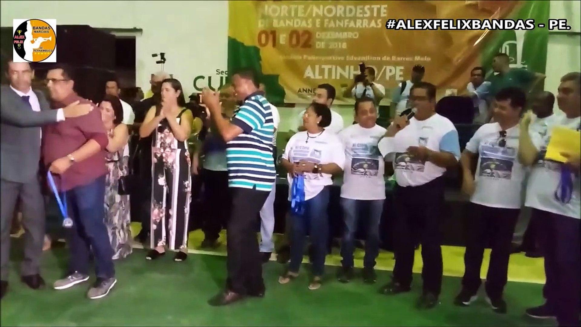 RESULTADO BANDA MARCIAL MASTER 2018 - XI COPA NORDESTE NORTE DE BANDAS E FANFARRAS - ALTINHO - PE