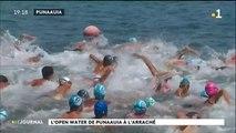 Les nageurs en eau libre bravent le vent et la houle