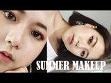 Go-To Summer Korean Makeup 여름 메이크업 | Q2HAN