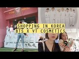 Shopping In Korea: BTS x VT Cosmetics Shop and Cafe | Q2HAN