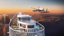 Landeplatz für Passagier-Drohnen: Dieses Hochhaus ist der pure Luxus