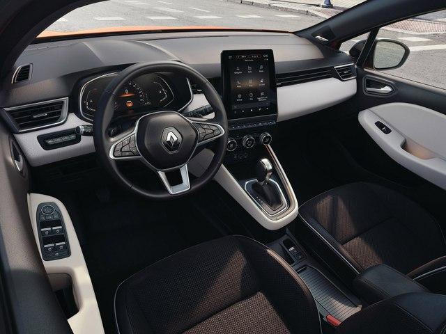 L'habitacle de la Renault Clio V