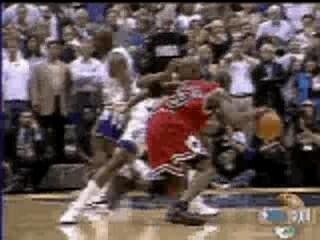 NBA BASKETBALL – Mickael JORDAN point