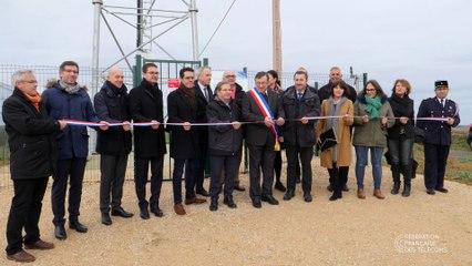 Inauguration du 1er site 4G multi-opérateurs dans le Gers à l'Isle-de-Noé