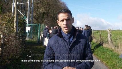 Inauguration du 1er pylône 4G multi-opérateurs en Aveyron à Lestrade-et-Thouels