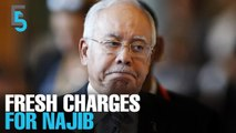 EVENING 5: Najib faces fresh money laundering charges
