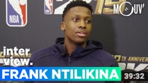 FRANK NTILIKINA : la NBA, New York, le gaming, la life...