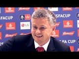 Arsenal 1-3 Manchester United - Ole Gunnar Solskjaer Full Post Match Press Conference - FA Cup