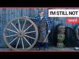 Stunning wooden creations of Scotland's last working wheelwright | SWNS TV
