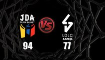 J18 : JDA Dijon - LDLC ASVEL en vidéo