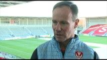 St Helens coach Holbrook pre Wigan