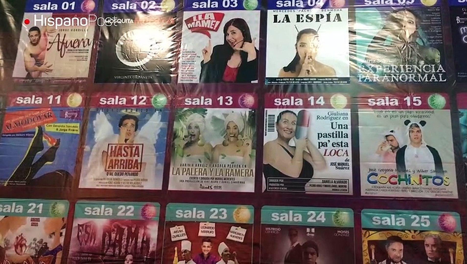 30 propuestas ofrece la XIX temporada del Teatro de ¼ que se presenta actualmente en Caracas