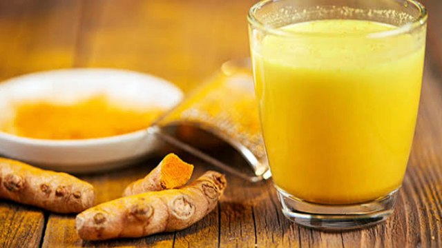 Anty Pain-Turmeric  milk more beneficial