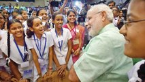 PM Modi at Pariksha Pe Charcha 2.0 with students, parents and teacher   OneIndia News