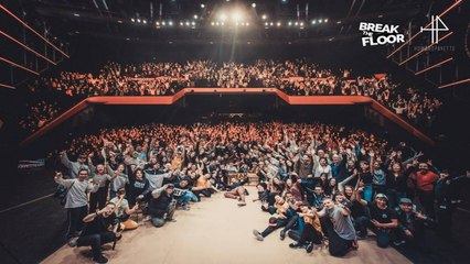Break The Floor 2019 | Final battle | Found nation VS Unity Warriors