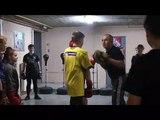 Longeault : l'école de rugby s'est essayée à la boxe