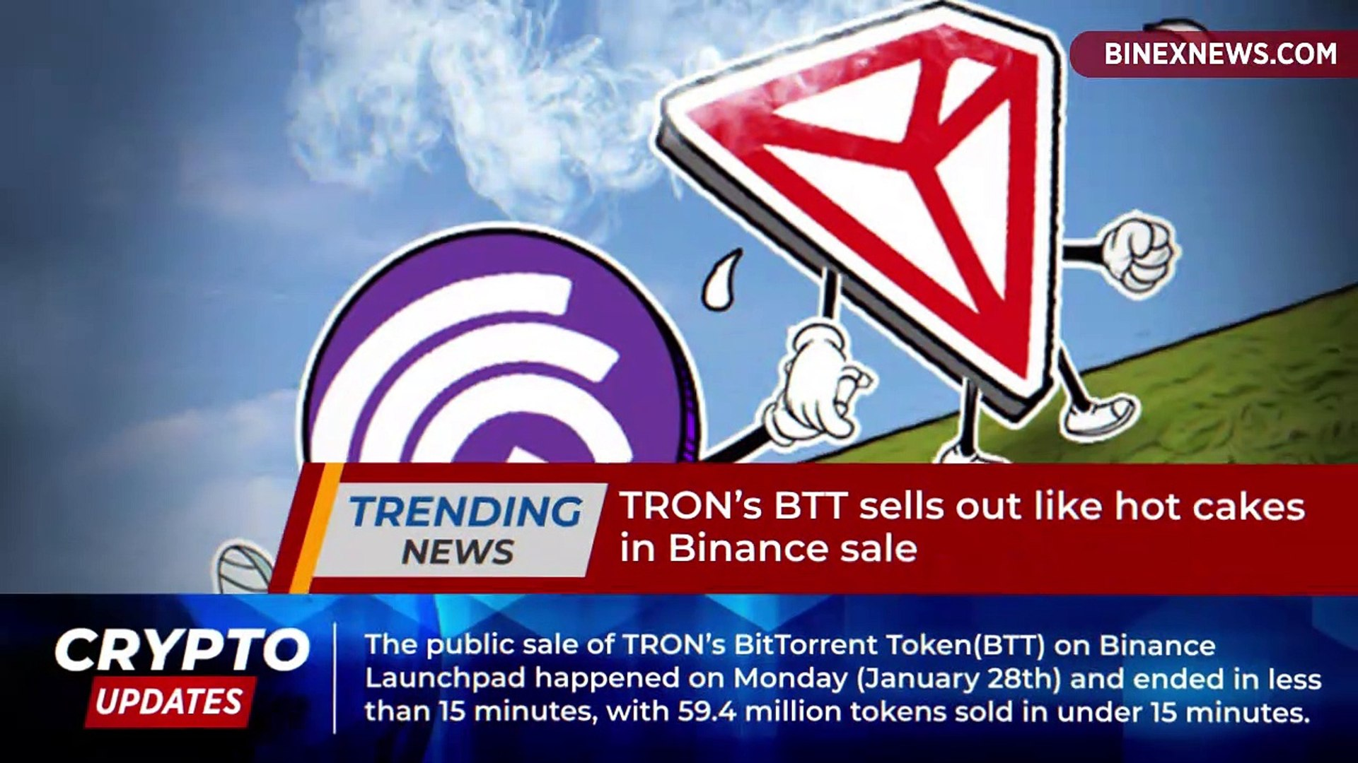 Here's What Happened at Tron's BTT Public Sale! - video