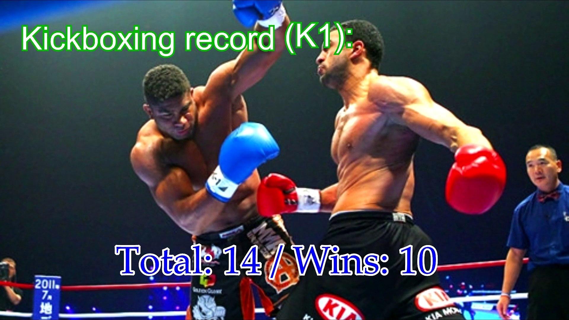 Alistair Overeem Losses In K1 Kickboxing Fights