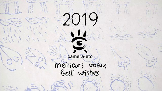 Carte de voeux 2019 de Camera-etc