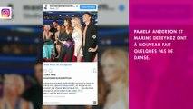 Pamela Anderson ultra sexy : les photos de ses retrouvailles avec Maxime Dereymez