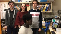 Les élèves du lycée Charles-de-Gaulle de Caen aux Olympiades de physique