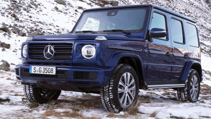 Mercedes-Benz G 350 d: Test Drive with the Diesel G-Class