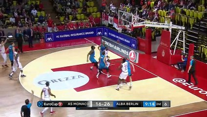 7Days EuroCup Highlights Top 16, Round 5: Monaco 61-75 ALBA