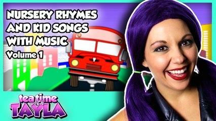 Nursery Rhymes and Kid Songs with Music - Volume 1