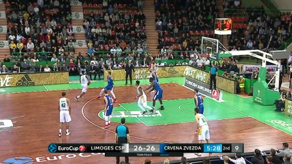 7Days EuroCup Highlights Top 16, Round 5: Limoges 72-71 Zvezda