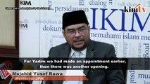 Mujahid: DAP rep appointed to Islamic agency's board based on merit