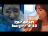 How Korean Youtubers spend a day in Malaysia Hotel | Blimey X Traders Hotel