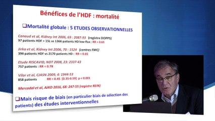 Pr Thierry PETITCLERC- Quels bénéfices de l'HDF en 2018 ?