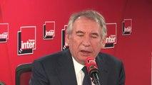 """François Bayrou sur la question de la supression de 120000 postes de fonctionnaires : """"Cette arithmétique n'a aucun sens. La question du nombre a toujours pollué la question technique"""""""