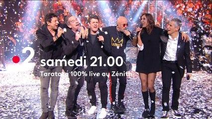 Rendez-vous Samedi 2 Février 2019 sur France 2 pour un nouveau Taratata 100% Live au Zénith.