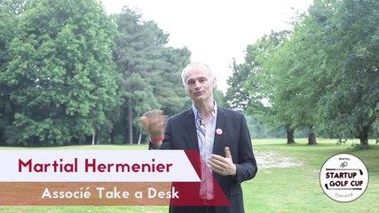 Interview Exposant : Martial HERMENIER - Take a desk