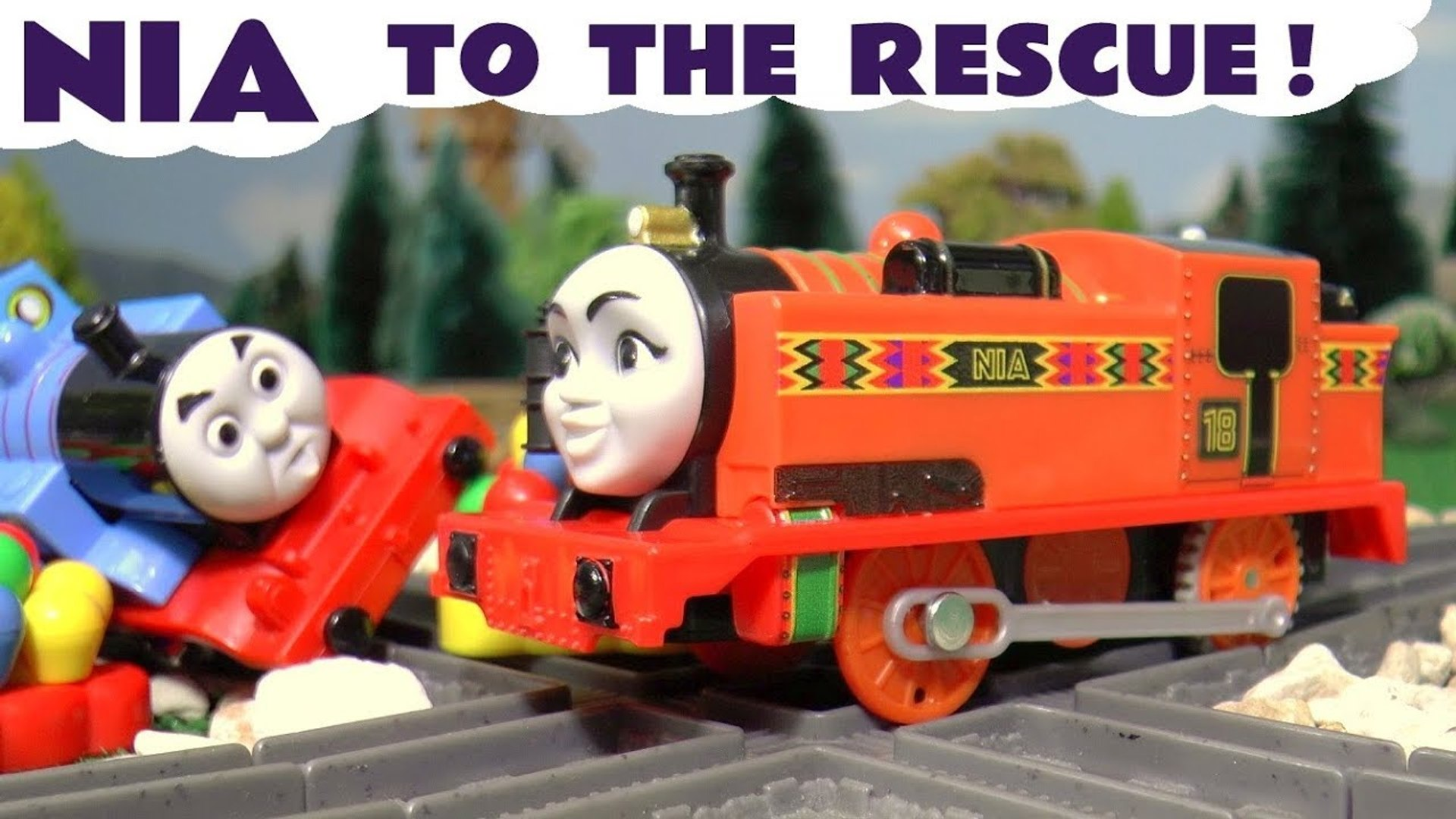 Thomas and Friends Big World Big Adventure Nia Rescue, An Accident Thomas the Tank Engine Full Episo