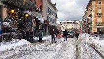 Les invités du festival du film fantastique arrivent au Grand Hôtel de Gérardmer