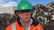 GDE recycle 35 000 t de ferraille chaque mois