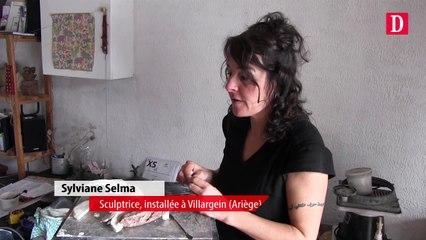 La sculptrice Sylviane Selma expose dans le Sinaï