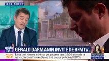 """""""Je me dis que j'ai vraiment eu raison de quitter Les Républicains."""" Gérald Darmanin tacle la désignation de François-Xavier Bellamy comme tête de liste LR aux européennes."""