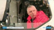 Neige : la tempête a traversé la France