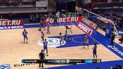 7Days EuroCup Highlights Top 16, Round 5: Zenit 67-82 UNICS