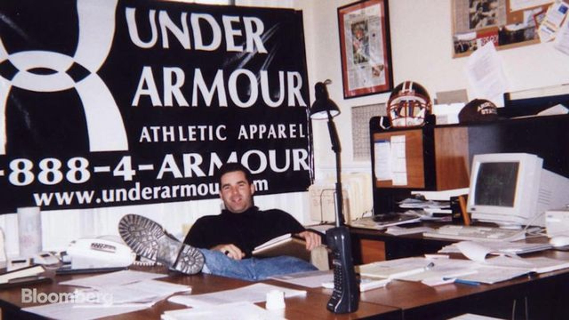 Under Armour CEO Plank Says Women's Lingerie Helped Start the Company