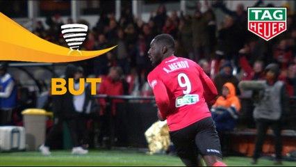 But Alexandre MENDY (46ème) / EA Guingamp - AS Monaco - (2-2) - (EAG-ASM) / 2018-19