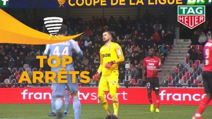Top arrêts 1/2 finale - Coupe de la Ligue BKT / 2018-19