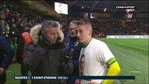 La réaction poignante de Valentin Rongier après Nantes - Saint-Etienne