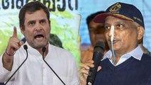 Goa CM Manohar Parrikar hits back Rahul Gandhi for politicising courtesy visit   Oneindia News