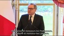 Remise des prix de thèse de l'Assemblée nationale en histoire et droit parlementaires - Lundi 28 janvier 2019